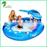 Cheap Mini Outdoor Inflatable Whale Swimming Pool For Kids