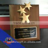HMC Rising Star Award and wholesale star plaques