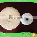 Leading manufacturer knitting yarn for hand knitting competitive offer multiply oe recycled cotton polyester glove yarn