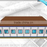 One/1 Storey Prefab House for Accommodation/School/Office/Dormitory with Good Quality Best Price