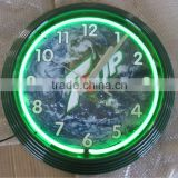 "17"" Tower Shape Neon wall Clock"