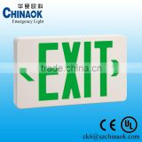 Factory Price LED Emergency Lamp Illuminated Exit Signs with 1.5hours Emergency