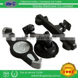 081-AY-BR# 3in1 Universal Windshield 360 Degree Rotating Car Mount Bracket Holder Stand for iPhone Cellphone headrest mount