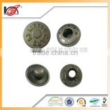 Plastic Button Oval Cap Types Of Press Buttons For Garments