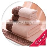 china supplier high-grade bamboo towel sets