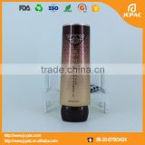 OEM Aluminium Plastic Cosmetic Oval Tube/ D35mm aluminum cosmetic soft tube for BB cream