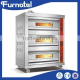 High quality Best price Stainless Steel Baking Equipment bread commercial double deck oven