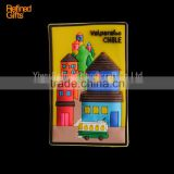 Creative House PVC Rubber Soft 3D Fridge Magnets promotional gifts Menufacture china