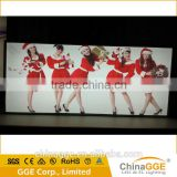 New Backlit Aluminum Frames Advertising Display LED Outdoor Slim Frameless Fabric Light Boxes