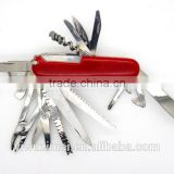 17 in 1 multifunction camping army multi military swiss knife                                                                         Quality Choice