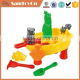 14PCS summer pirate ship toy plastic sand table for kids