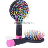 Mini Rainbow hair brush Eyecandy comb