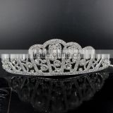 beauty Pageant Crown Tiara Mini Rhinestone Tiara Crown fashion design hot sale
