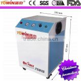 110-240V Clear Air Supply Electric Piston Silent Dental Oil Free Portable Mini Air Compressor