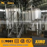 XIMO brewery equipment,SUS304 mini brewery equipment /commercial 500l 1000l beer production line