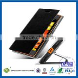 C&T Wholesale attractive Book Type Leather Case for Nokia Lumia 730
