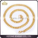 KSTONE 2015 China Factory Wholesale Fashion Jewelry Men Stainless Steel Necklace