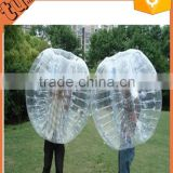 heap human PVC inflatable body bumper ball / soccer bubble/ inflatable belly bump ball for sale