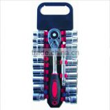 "19pcs 1/2"" hardware stock mini socket tool set"