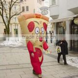 advertising Inflatable pizza costume balloon