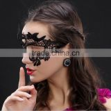 SEXY Black lace face mask The Women Eyes Mask Costume for Halloween Masquerade Ball