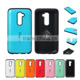 CS-07 iFace Mall TPU+PC shockproof cover case for LG Optimus G2 mobile phone, dual color hard cases for lg g2 d802 smart phone