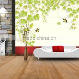 2016 wall mural design, 3d mural wallpaper, black white stripe wallpaper pictures