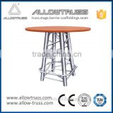 Morden appearance alloy aluminium Bar table/ metal Bar table