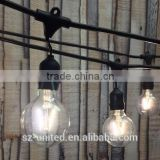 vintage fairy string lights with edison