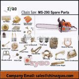 MS290 complete sets spare parts gasoline chain saw