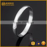 Latest design costume jewelry plain silver plated wide bangle fashion bracelets for women jewellery wholesale