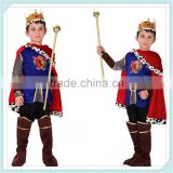 Halloween China supplier Prince Charming cosplay costume for boys wholesale kids party cosplay halloween