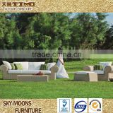 round rattan sofa furniture, cane sofa set price, garden rattan sofa set, poly rattan furniture(SF002)