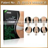 2015 Top selling good works natural ingredients safe detoxing body applicator caffeine slimming body applicator