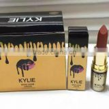 12Colours golden Lipstick matte branded Kylie lipstick for makeup