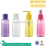Clear 120ml Empty Spray Bottle Travel Transparent Plastic Perfume Atomizer