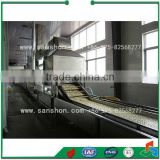 China Vegetable Fruits Processing Line For Quick Freezing