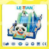 Big outdoor inflatable slide for kids play toys LT-2134K