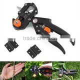 Fruit Tree Professional Grafting Steel Cutting Machine Cutting Tool With 2 Extra Blades Black