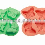 Silicone biscuit baking pan / Cookie moulds / Mini cake mould