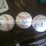 Professional leather Baseball ball / high quality rawling baseball ball