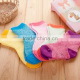 Hot sales fashion winter thick baby kids socks cheap price organic cotton indoor toddler socks