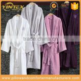 Hotel 100% cotton white bathrobe cheap for home from China