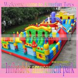 Customized inflatable amusement park 2013