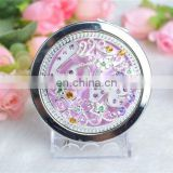 2011Pocket cosmetic mirror, hot alloy pocket mirror