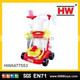 High quality educational preschool pretend cleaning toy vacuum cleaner