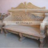 red marble fossil stone furniture
