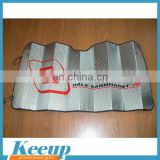 PE Bubble Custom Windshield Sun Shade for Promotion