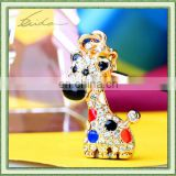 LITTLE GIRAFFE METAL PROMOTION MOBILE PHONE CHARM/STRAP