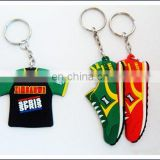 Football shoes and Football Shirt key chain
